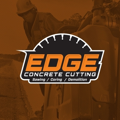 Edge Concrete Cutting Logo