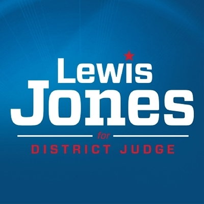Lewis Jones for District Judge Logo