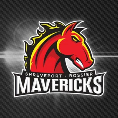 Shreveport Bossier Mavericks Logo