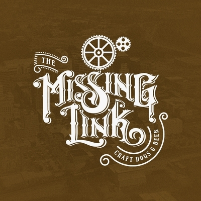 The Missing Link Craft Dogs & Beer Logo