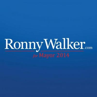Ronny Walker for Mayor Logo