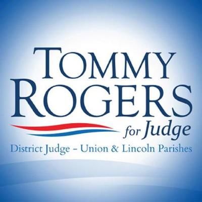 Tommy Rogers for Judge Logo