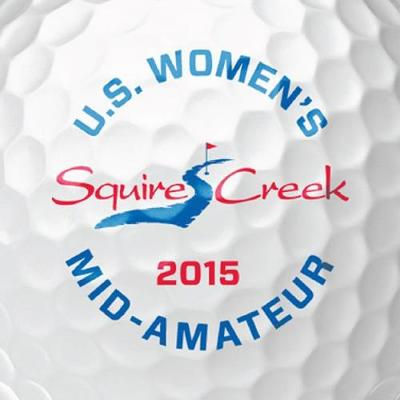 U.S. Women's Mid- Amateur at Squire Creek Logo