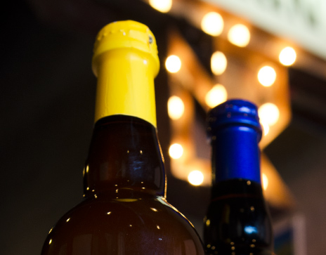 Fibrebond Christmas Top Wine Bottles Photo