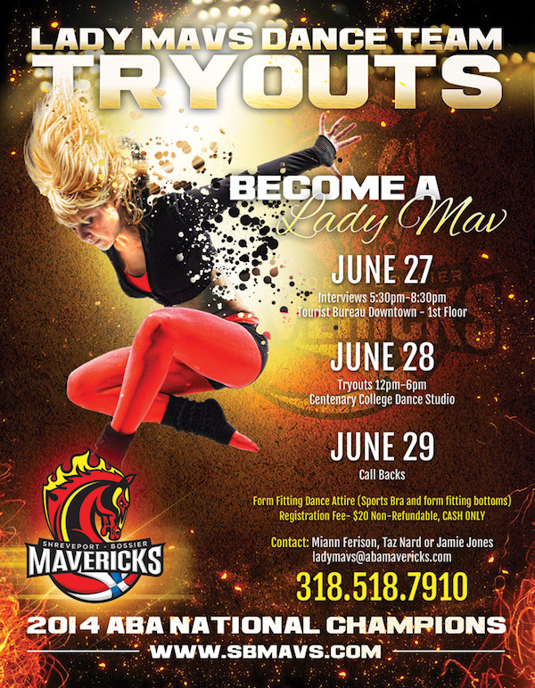 Lady Mavs Tryouts Image