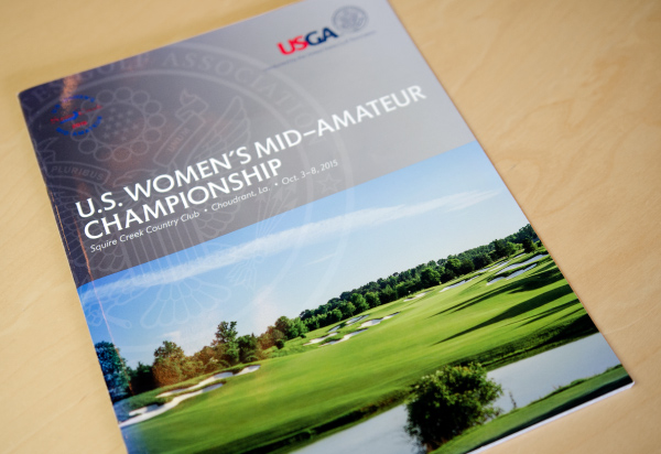 Squire Creek US Women's Mid-Am Championship Program Cover Photo