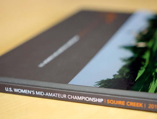 Squire Creek US Women's Mid-Am Keepsake Book Edge Photo