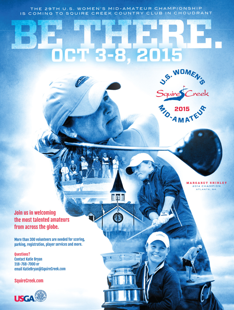Squire Creek US Women's Mid-Am Poster Photo